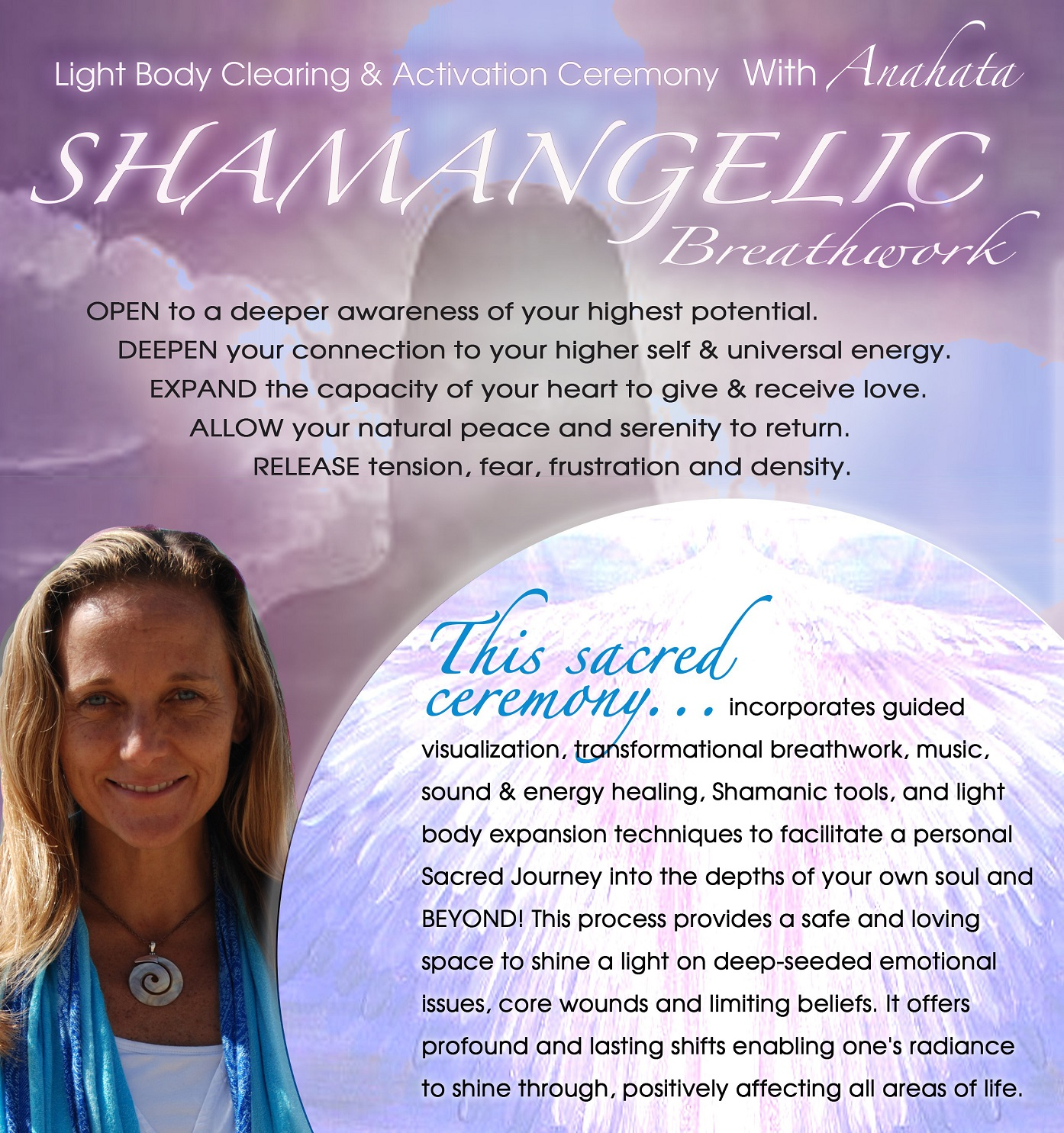 Shamanic Breathing with Anahata Ananda