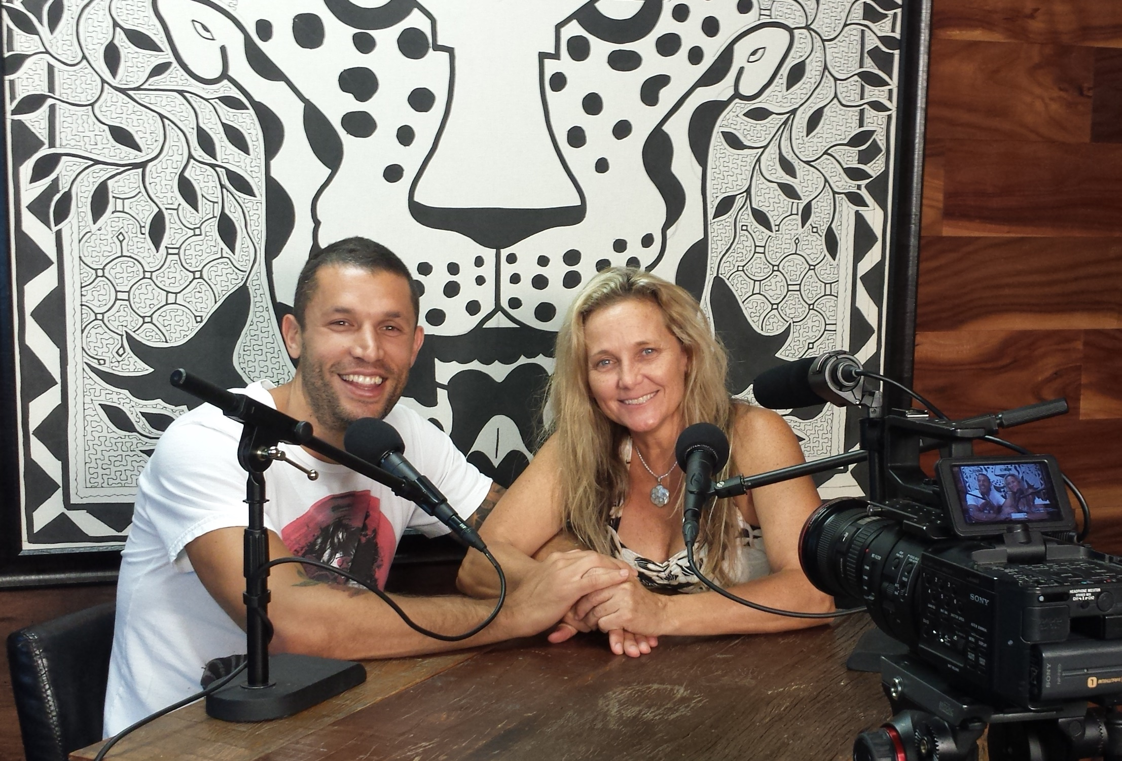 """Podcast; """"Shamangelic Breathwork and Relationships"""" with Anahata and Aubrey Marcus"""