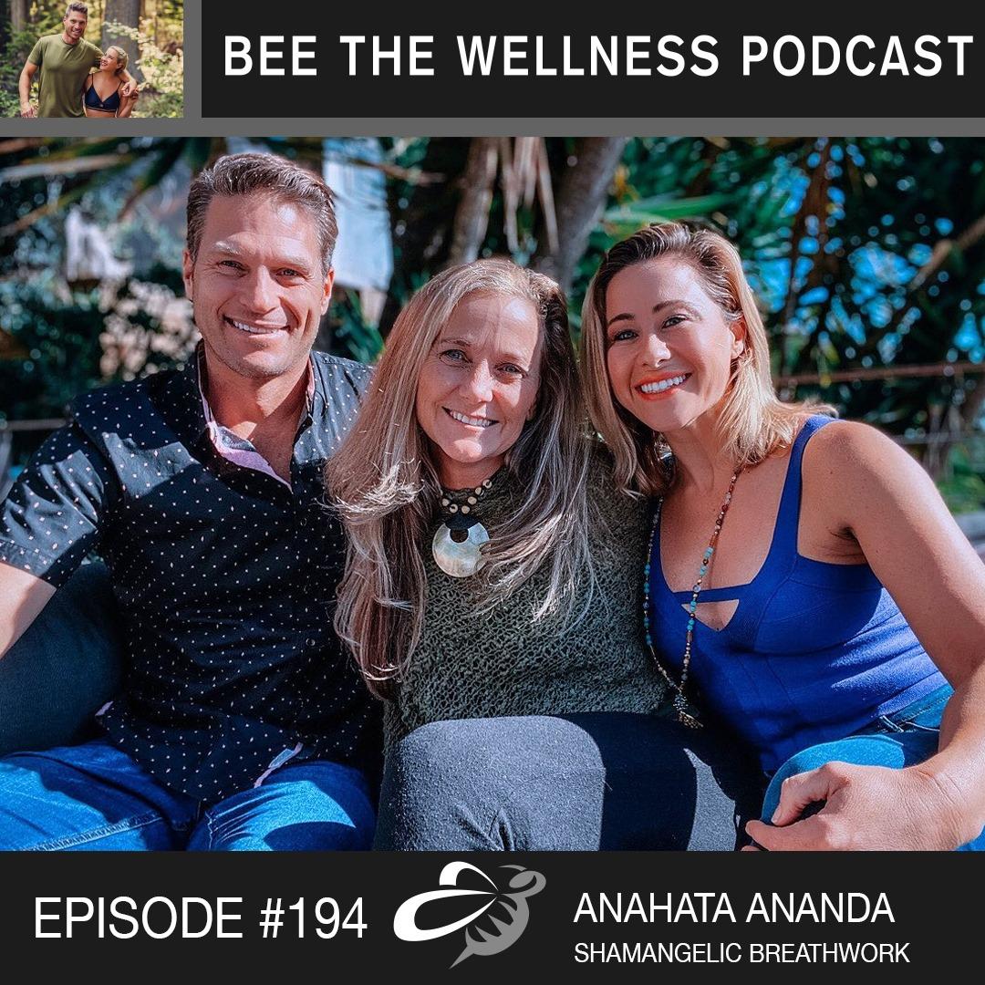 Podcast: Shamangelic Breathwork and Animal Spirits Vanessa and Adam Lambert's Bee The Wellness Podcast