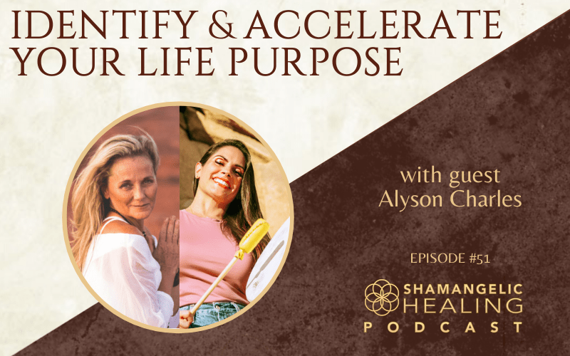 EP 51 Identify & Accelerate Your Life Purpose with Alyson Charles
