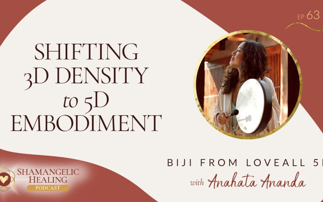 EP 63 Shifting 3D Density to 5D Embodiment with Biji